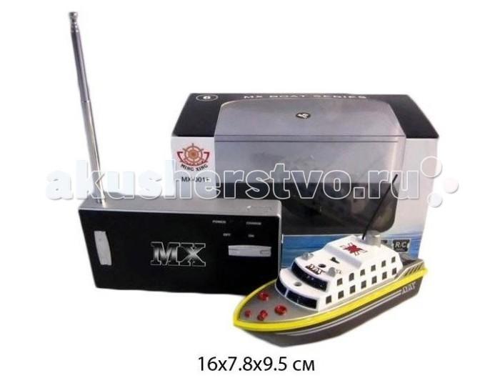 Shantou Gepai Катер р/у аккум 4 канала зарядка от пульта 10м MX-0011-12Катер р/у аккум 4 канала зарядка от пульта 10м MX-0011-12Shantou Gepai Катер р/у аккум 4 канала зарядка от пульта 10м MX-0011-12 реалистично смоделированная копия оригинального водного судна. Ребенок сможет управлять катером при помощи пульта радиоуправления с большим радиусом действия.   Особенности: радиоуправляемый катер движение: вперед, назад, влево и вправо пульт работает от 2 батареек типа АА (в комплект не входят). радиус пульта управления - до 30 м В комплекте: катер пульт управления. Внимание! Прежде чем приступить к игре, замкните контакты, находящиеся на дне корпуса игрушки. В противном случае катер не будет реагировать на пульт управления.<br>