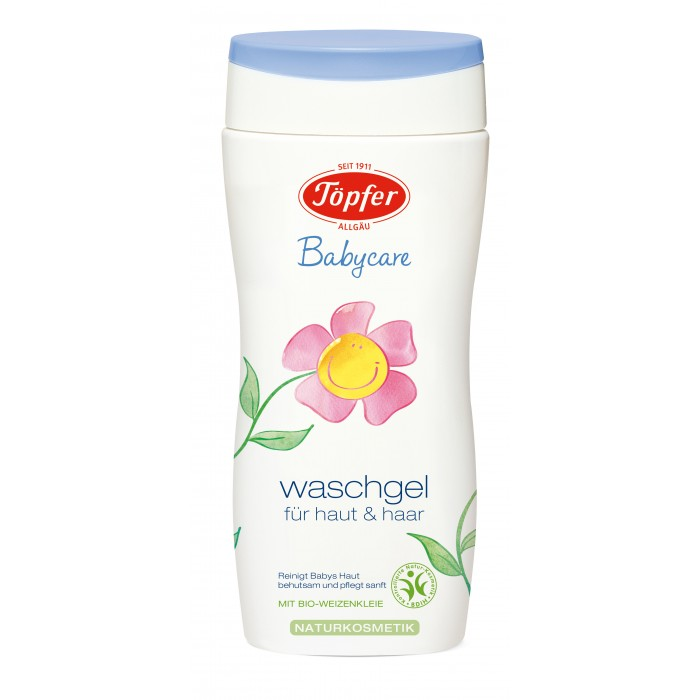Topfer Детский шампунь-гель для мытья волос и тела 200 мл