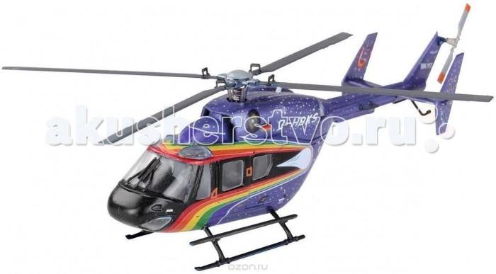 Конструктор Revell Сборная модель вертолета Eurocopter BK 117Сборная модель вертолета Eurocopter BK 117Сборная модель немецкого вертолета Eurocopter BK 117. Эта винтокрылая машина может похвастаться просторным салоном, высокой надежностью и исключительной производительностью. Мощность двух газотурбинных двигателей Lycoming в 550 л.с. (410 кВт) позволяет вертолету развивать максимальную скорость в 278 км / ч. Долгое время этот вертолет с уникальным космическим дизайном использовался для демонстрационных полетов.   Внимание! Данная модель не собрана! Для ее сборки и покраски вам понадобятся клей и краски. Эти расходные материалы не входят в комплект и приобретаются отдельно. Рекомендуется использовать специальный модельный клей для пластика, а также акриловые или эмалевые краски Revell.  Основные характеристики:   Длина модели: 138 мм Масштаб: 1:72  Количество деталей: 72 шт.<br>