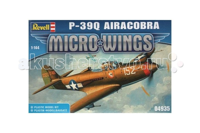 ����������� Revell ����� ������ ������� ����������� P-39Q ���������, ������������ (18 �������)