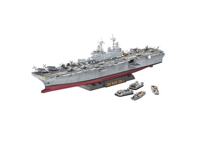 ����������� Revell ������� U.S.S. Wasp Class (1349 �������)
