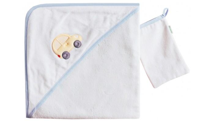 Kidboo Комплект полотенце-уголок + варежка Traffic Jam