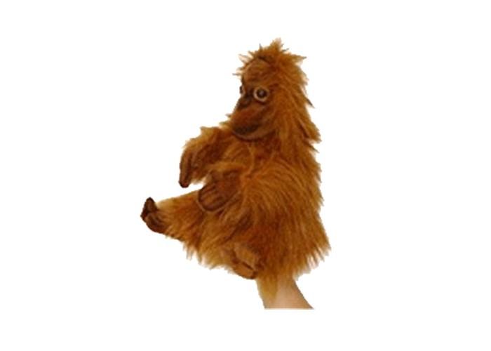 Hansa Игрушка на руку Малыш орангутангаИгрушка на руку Малыш орангутангаHansa Игрушка на руку Малыш орангутанга  Орангутанг от компании Hansa - это мягкая игрушка на руку, которая представлена в виде детеныша одного из самых опасных хищников. Одев игрушку на руку, кукловод сможет управлять корпусом, а также лапами орангутанга. Игрушка выполнена из качественного искусственного меха, который не потеряет своей формы и яркости даже после нескольких стирок в щадящем режиме. Подобный орангутанг может стать персонажем детских творческих постановок и спектаклей, а также настоящим другом, который повсюду будет сопровождать малыша.<br>