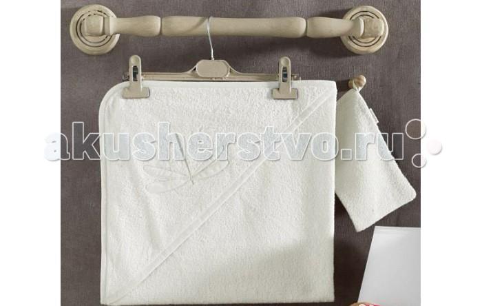 Kidboo Комплект полотенце-уголок + варежка Vanilla Dreams