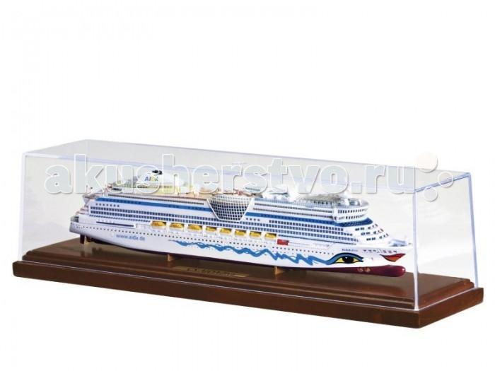 Развивающая игрушка Revell Круизное судно Aida DivaКруизное судно Aida DivaМодель круизного лайнера Aida Diva. Судно было построено в 2007 году. В данный момент находится в собственности компании Societa di Crociere Mercurio S.r.l. и эксплуатируется оператором AIDA Cruises.  Сборка не требуется  Основные характеристики:   Длина модели 305 мм Масштаб модели 1:1000 Длина упаковки: 30.5 см Ширина упаковки: 8.4 см Высота упаковки: 8.3. см<br>