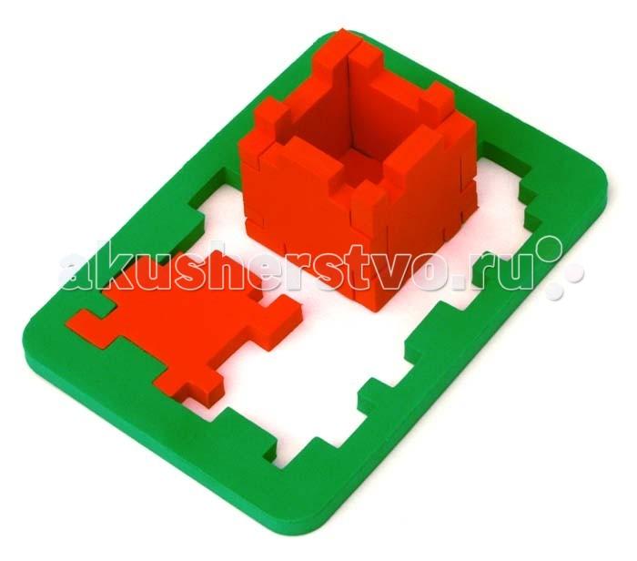 Конструктор Бомик Кубик-головоломка 6 элементовКубик-головоломка 6 элементовБомик Кубик-головоломка 6 элементов 701  Красочный кубик-головоломка выполнен из абсолютно безопасного, нетоксичного, мягкого и прочного материала. Он не ломается и не пачкает руки, приятный на ощупь.  Он может выполнять роль конструктора, из которого можно складывать различные пространственные и плоские комбинации предметов. Он может служить в качестве методического пособия для занятий по геометрии как дома, так и в детском саду и в начальной школе, давая понятие о целом предмете и его части.   Играя вместе с ребенком, вы поможете развитию у него воображения, памяти, логического и пространственного мышления, моторики пальчиков. Яркие детали кубика познакомят ребенка с основными цветами.  Размер:28.5х15х1 см<br>