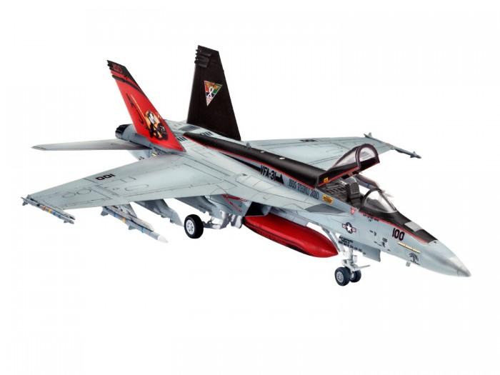 Конструктор Revell Набор Самолет Истребитель-бомбардировщик Боинг F/A-18E/F Супер Хорнет