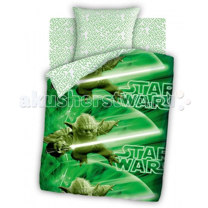 Постельное белье Непоседа Star Wars Мастер Йода 1.5-спальное (3 предмета)