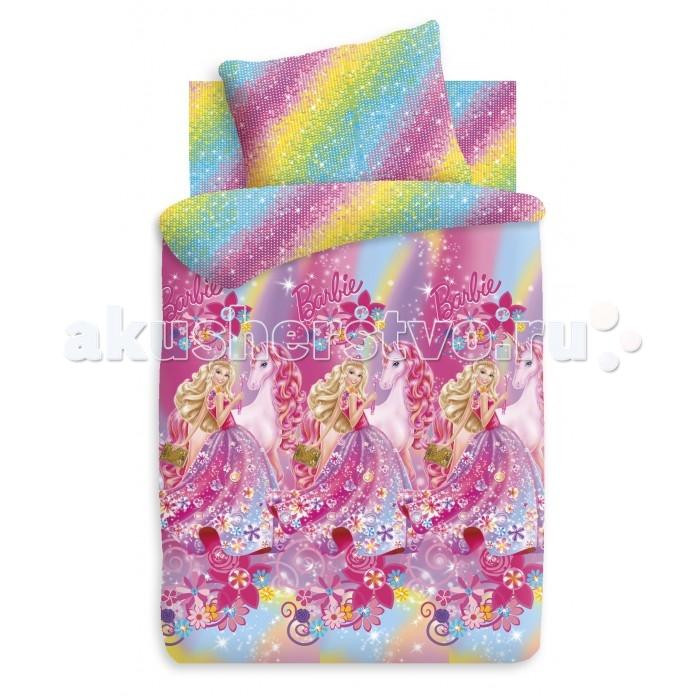 Постельное белье Непоседа Барби Принцесса Алекса 1.5-спальное (3 предмета)