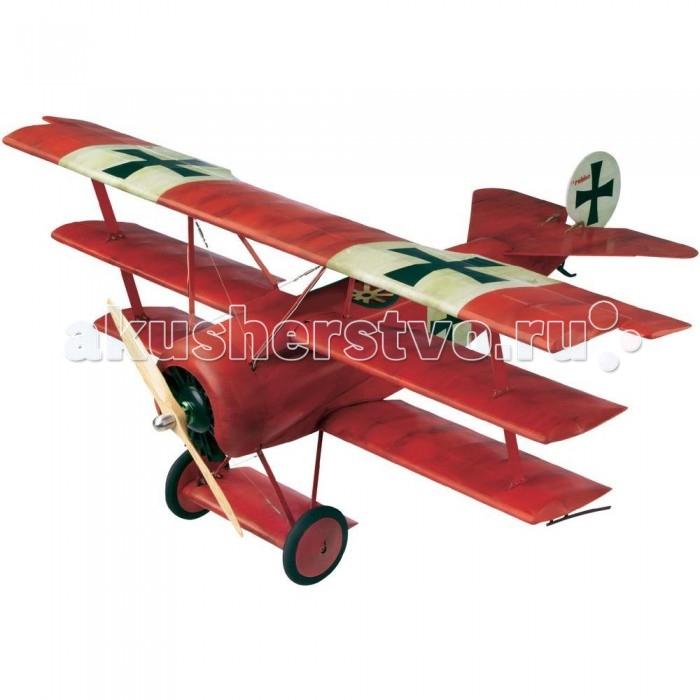 Конструктор Revell Набор Самолет Триплан Истребитель Fokker Dr. I (Масштаб 1:48)Набор Самолет Триплан Истребитель Fokker Dr. I (Масштаб 1:48)Fokker Dr. I — это легкий и маневренный триплан, первый полет которого состоялся в 1917 году. Несмотря на то, что модель имела множество конструкционных недостатков, она все равно вошла в историю. Один из любопытных фактов — именно на таком самолете знаменитый Красный барон, немецкий ас Манфред фон Рихтгофен, совершил последние 20 победоносных сражений. На данный момент оригинальных трипланов Fokker Dr. I практически не осталось, однако существуют копии. Ценители сборных моделей авиации обязательно осознают всю прелесть этой миниатюрной модели, которую своими руками можно собрать из высококачественного набора от легендарной фирмы Revell.  Внимание!  Данная модель не собрана! Для ее сборки и покраски вам понадобятся клей и краски. Основные расходные материалы включены в комплект.<br>