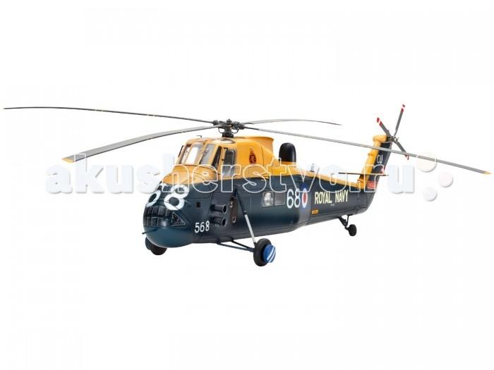 Конструктор Revell Вертолет Боевой Wessex HAS Mk.3 (133 детали)Вертолет Боевой Wessex HAS Mk.3 (133 детали)Набор со сборной моделью вертолета Wessex HAS Mk.3 в масштабе 1:48. С 1967 года данный вертолет состоит на вооружении Королевского флота Великобритании и используется для противолодочной борьбы. Разработаннаяна основе S-58, версия Mk3 получила более мощную версию двигателя, новую радиолокационную систему и комплексную систему управления полетом. Последнее применение HAS Mk3 было во время Фолклендской войны. Хамфри № 737 НАН с HMS Антрим получил известность, потопив аргентинский подводную лодку во время данного конфликта. В 1983 вертолеты данной модели были выведены сняты с эксплуатации.   В набор входят не только детали для сборки, но и клей с красками, а значит, вам не придется покупать их отдельно.  Основные характеристики:   Длина модели: 31.4 см Ширина модели: 35.6 см Масштаб: 1:48 Количество деталей: 133 шт.<br>