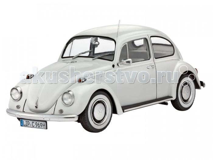 Конструктор Revell Набор Автомобиль VW Beetle Limousine 68 (125 элементов)Набор Автомобиль VW Beetle Limousine 68 (125 элементов)Автомобиль VW Beetle Limousine 68 для бесчисленного количества людей был самым первым автомобилем. В конструкцию автомобиля постоянно вносились улучшения для сохранения его конкурентоспособности. И к 1968 году, VW Beetle Limousine достиг такого стандарта, который удерживал его впереди конкурентов многие годы.   Превосходная сборная модель лимузина Фольцваген Битли является абсолютно точной уменьшенной копией своего так узнаваемого прототипа в масштабе 1:24. Всего модель состоит из 125 отдельных компонентов, которые необходимо собрать, склеить и покрыть краской в соответствии с инструкцией в комплекте. В наборе также прилагаются клей в удобной упаковке, краски и кисточка. Длина готового макета автомобиля VW Beetle Limousine 1968 года составляет 171 мм. Сборку такой модели относят к моделированию на продвинутом уровне (№3). Модель тщательно проработана. Оригинальный кузов выполнен в мельчайших подробностях, а интерьер машины с подлинной приборной панелью, отдельными передними сиденьями и одним задним превосходно деализированы. Модель может быть собрана как леворульной, так и праворульной. Макет автомобиля имеет вращающиеся колёса, которые выглядят совсем как настоящие, открывающуюся крышку капота, под которой располагается мелко детализированный четырёхцилиндровый двигатель. А для ещё большей достоверности, некоторые части модели хромированы.   Основные характеристики:   Размер упаковки: 34 x 6.8 x 37 см Длина собранной модели: 17.1 см Масштаб: 1:24 Количество деталей: 125 шт.<br>
