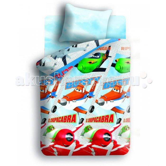 Постельное белье Непоседа Самолеты 272931 1.5-спальное (3 предмета)