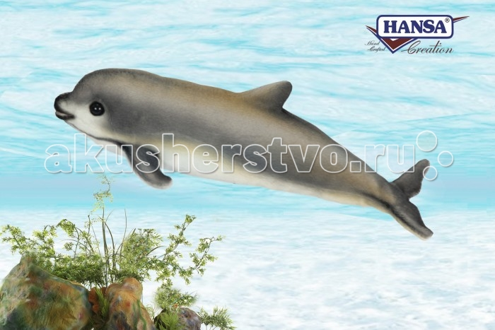 Мягкая игрушка Hansa Детеныш калифорнийской морской свиньи вакита 31 см