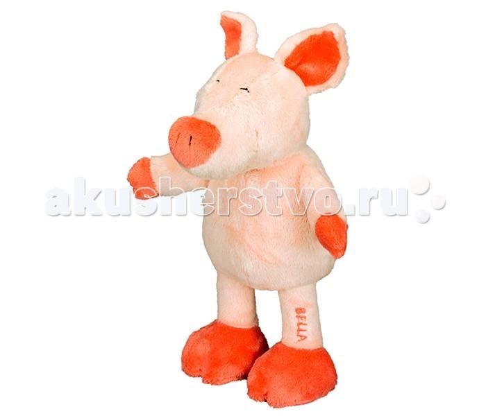 Мягкая игрушка Spiegelburg Плюшевая свинка Bella 10740Плюшевая свинка Bella 10740Spiegelburg Плюшевая свинка Bella 10740 мягкая,  милая и симпатичная игрушка из коллекции «Die Lieben Sieben» (Семеро Друзей).    Очаровательная свинка изготовлена из пушистой ткани, очень приятной на ощупь.  Развеселит Вашего ребенка и поднимет настроение. Он не захочет с ней расставаться.  Рекомендуется для детей с рождения.<br>