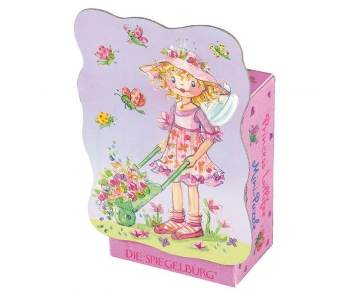 Spiegelburg Мини-пазл Prinzessin Lillifee 20117Мини-пазл Prinzessin Lillifee 20117Spiegelburg Мини-пазл Prinzessin Lillifee 20117 красочный мини-пазл извилистой формы из 40 деталей.   На картинке в розовых тонах изображена прекрасная принцесса Лиллифея робатающей в саду.Яркий сказочный пазл станет отличным подарком для маленькой девочки.  Пазлы развивают мелкую моторику, внимание, сообразительность, зрительную и двигательную память, логическое и творческое мышление.<br>