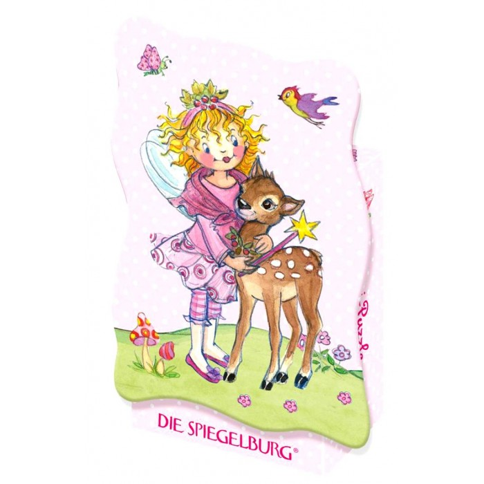 Spiegelburg Мини-пазл Prinzessin Lillifee 20860Мини-пазл Prinzessin Lillifee 20860Spiegelburg Мини-пазл Prinzessin Lillifee 20860 состоит из 40 частей.  На картинке изображена Лиллифи с олененком Рики.  Яркий сказочный пазл станет отличным подарком для маленькой девочки.  Пазлы развивают мелкую моторику, внимание, сообразительность, зрительную и двигательную память, логическое и творческое мышление.  Пазл упакован в красивую коробку.<br>