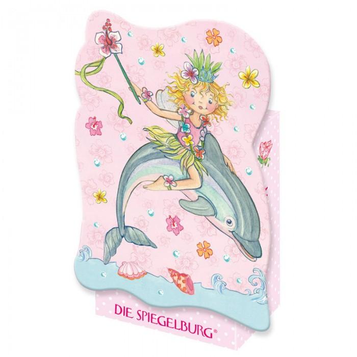 Spiegelburg Мини-пазл Prinzessin Lillifee 20861Мини-пазл Prinzessin Lillifee 20861Spiegelburg Мини-пазл Prinzessin Lillifee 20861 состоит из 40 частей.  На картинке изображена принцесса Лиллифи верхом на дельфинёнке. Яркий сказочный пазл станет отличным подарком для маленькой девочки.  Пазлы развивают мелкую моторику, внимание, сообразительность, зрительную и двигательную память, логическое и творческое мышление.  Пазл упакован в красивую коробку.<br>