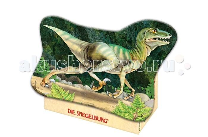 Spiegelburg Мини-пазл Deinonychus T-Rex 20869Мини-пазл Deinonychus T-Rex 20869Spiegelburg Мини-пазл Deinonychus T-Rex 20869 состоит из 40 частей.  На картинке изображен опасный доисторический хищник – зубастый дейноних.  Пазл упакован в красивую коробочку оригинальной формы.  Пазлы развивают мелкую моторику, внимание, сообразительность, зрительную и двигательную память, логическое и творческое мышление.<br>