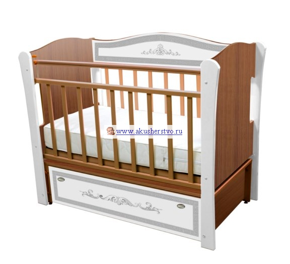 Детская кроватка Влана Меандр (продольный маятник)