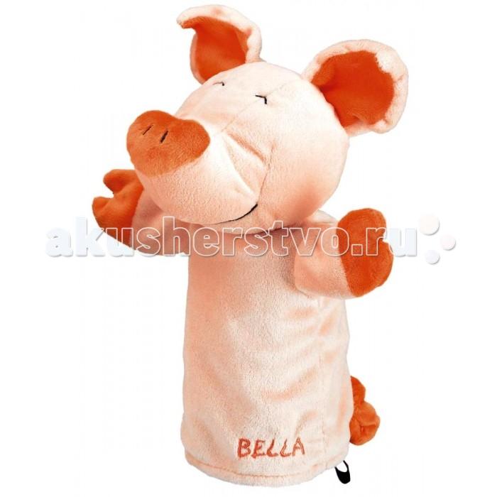 Spiegelburg Кукла-перчатка Bella 25202Кукла-перчатка Bella 25202Spiegelburg Кукла-перчатка Bella 25202.   Если у вас и вашего малыша есть творческие и актерские способности, то вам просто необходимо приобрести куклу-перчатку.  Кукла-перчатка Белла сделаны в виде веселой розовой хрюшки. Она удобно сидит на руке, поэтому управлять ей легко. Теперь вы сможете создать свой собственный кукольный спектакль с уникальными постановками.  Кукла-перчатка сделана из качественных безопасных материалов, не вызывающих аллергию и раздражение у детишек. Играя с ней, ребенок будет развивать воображение и фантазию, мелкую моторику рук и коммуникабельность.<br>