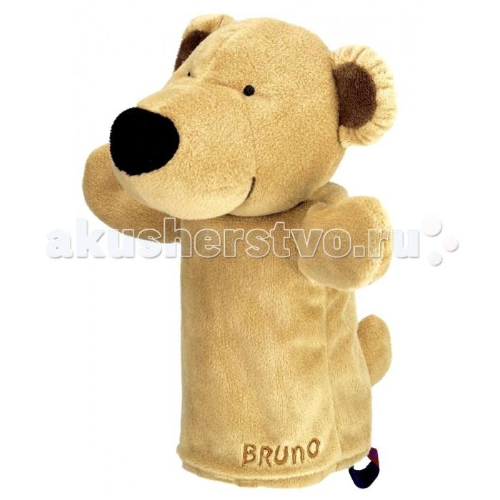 Spiegelburg Кукла-перчатка Bruno 25201Кукла-перчатка Bruno 25201Spiegelburg Кукла-перчатка Bruno 25201 - это отличный способ развеселить Вашего ребенка!    Сделанная в виде медвежонка Бруно она, непременно, заинтересует и рассмешит детей! Куклу-перчатку могут одевать взрослые, чтобы поиграть с детьми, или сами дети, чтобы играть друг с другом в кукольный театр, придумывать и устраивать целые представления!  Играя с куклой-перчаткой Bruno, дети будут развивать фантазию и получат море положительных эмоций!  Компания гарантирует высочайшее качество продукции и соответствие европейским стандартам.<br>