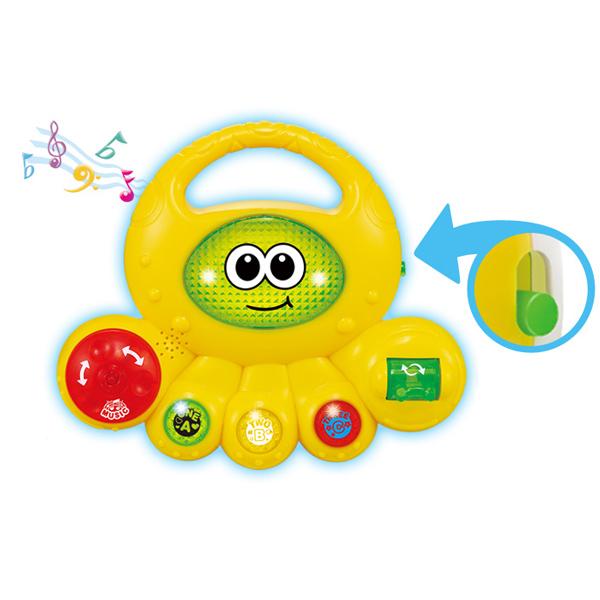 Электронные игрушки Yobee Музыкальный Осьминог