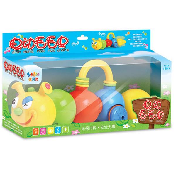 Каталки-игрушки Yobee Гусеница музыкальная