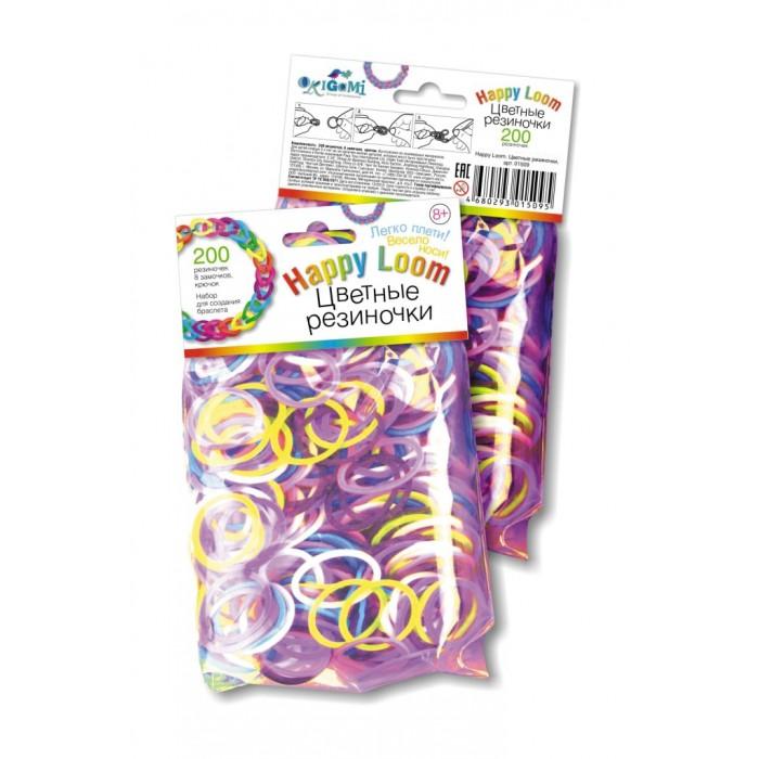Happy Loom Набор для творчества - Цветные резиночки в пакете 01509