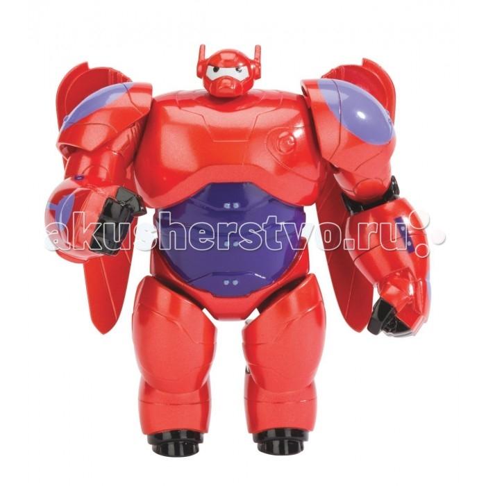 Big Hero 6 Фигурка 10 см красный БэймаксФигурка 10 см красный БэймаксBig Hero 6 Фигурка 10 см, красный Бэймакс.  Фигурки главных героев мультфильма Город героев – замечательный подарок для любого поклонника супергероев. Друзья снова объединяются для борьбы со злом! Красный Бэймакс может выстреливать кулаком, издавать звуки, раскрывать крылья для полеат. Игровой набор Хиро и Бэймакс содержит множество сюрпризов; все пропорции соблюдены - робот действительно большой!  Все фигурки из этого набора подвижны, каждое действие сопровождается фантастическими звуковыми и световыми эффектами, крылья робота раздвигаются при нажатии на кнопку. Фигурка Хиро одета в боевой костюм со специальные магнитные ладони для активации звука в Бэймаксе. Для этого посадите Хиро на боевого робота и отправьте в полет!  Бэймакс снабжен со звуковыми эффектами, например, гудение при полете Чтобы активировать эффекты, посадите фигурку на спину робота У Бэймакса выстреливает кулак Размер Хиро составляет 10 см.<br>