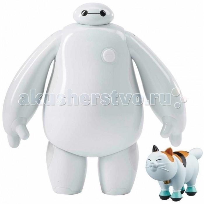 Big Hero 6 Фигурка 10 см белый БэймаксФигурка 10 см белый БэймаксBig Hero 6 Фигурка 10 см, белый Бэймакс.  В наборе коллекционная фигурка персонажа мультфильма Супер шестерка. Он отлично прорисован.У него подвижные руки, ноги, голова. В комплекте с фигуркой кот Моти.<br>