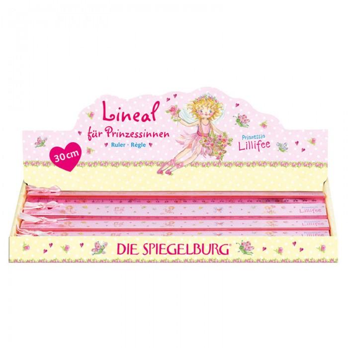 Spiegelburg Линейка Prinzessin Lillifee 20660Линейка Prinzessin Lillifee 20660Spiegelburg Линейка Prinzessin Lillifee 20660 порадует каждую девочку и сделает выполнение домашних заданий интересным и увлекательным.  Линейка имеет 30 делений и очаровательный розовый бантик, который поможет ребенку проявлять свою индивидуальность и творчески подходить к учебному процессу.<br>
