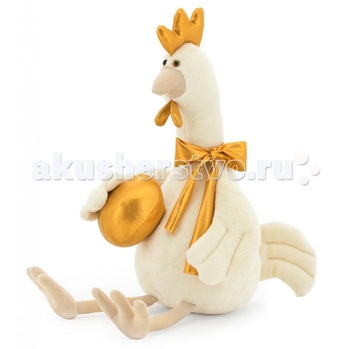 Мягкая игрушка Orange Курочка Коко 30 смКурочка Коко 30 смМягкая игрушка Orange Курочка Коко 30 см - это очень красивая мягкая игрушка, представленная в виде популярнейшей домашней птицы, которая одним крылом прижимает к себе золотое яйцо.   Игрушка сделана из очень приятных на ощупь материалов, поэтому ребенку просто не захочется расставаться с ней. Лапки курицы весело болтаются, если покачать ее.  Особенности: Компактную и легкую игрушку малыш всегда сможет брать с собой на прогулку. Крепкие швы надежно удерживают набивку игрушки внутри. Игрушка сделана из качественных материалов, поэтому абсолютно безвредна для здоровья детей.  С игрушкой играть в различные игры, а если ребенок очень ее полюбит, даже спать с ней.  Компания Orange является одним из лидеров в производстве мягких игрушек и текстильных аксессуаров. Изделия российского бренда славятся безупречным качеством исполнения и тщательно продуманным дизайном. Продукция Orange Toys состоит из нескольких коллекций, выполненных в разных цветовых и стилистических решениях.<br>