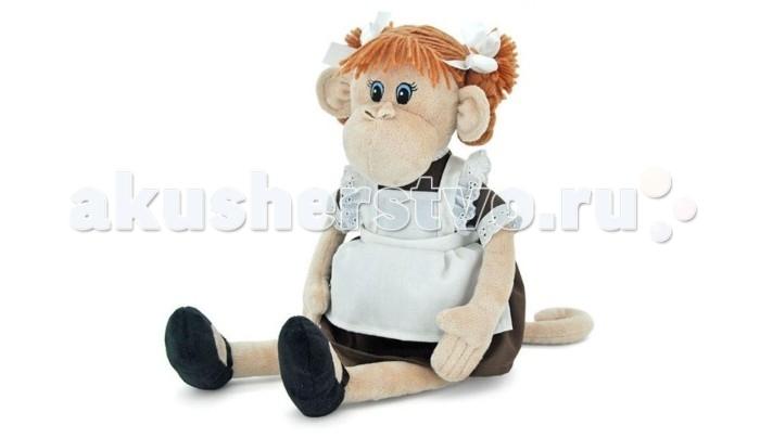 Мягкая игрушка Orange Обезьянка Наташка 23 смОбезьянка Наташка 23 смМягкая игрушка Orange Обезьянка Наташка 23 см порадует ребенка. Это классическая игрушка, которая изготовлена в превосходном качестве из текстиля и мягкого наполнителя, исполнена стильно и своим внешним видом способна вызвать улыбку не только у детей.   Особенности: Компактную и легкую игрушку малыш всегда сможет брать с собой на прогулку. Крепкие швы надежно удерживают набивку игрушки внутри. Игрушка сделана из качественных материалов, поэтому абсолютно безвредна для здоровья детей.  Такие игрушки положительно влияют на тактильное и зрительное восприятие у детей, развивают у них фантазию и прививают любовь к животным.  Компания Orange является одним из лидеров в производстве мягких игрушек и текстильных аксессуаров. Изделия российского бренда славятся безупречным качеством исполнения и тщательно продуманным дизайном. Продукция Orange Toys состоит из нескольких коллекций, выполненных в разных цветовых и стилистических решениях.<br>