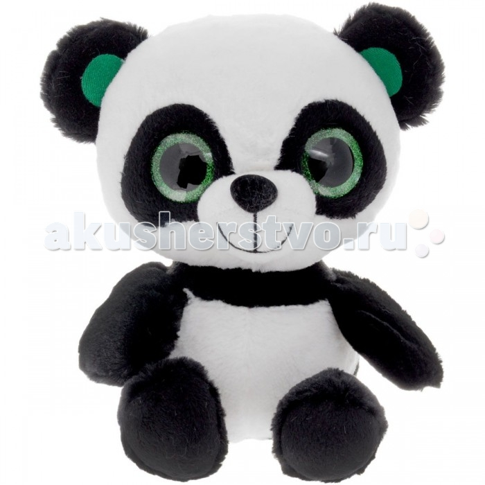 Мягкая игрушка Fancy Панда глазастик 25 смПанда глазастик 25 смМягкая игрушка Fancy Панда глазастик 25 см порадует ребенка. Это классическая игрушка, которая изготовлена в превосходном качестве из текстиля и мягкого наполнителя, исполнена стильно и своим внешним видом способна вызвать улыбку не только у детей.   Особенности: Компактную и легкую игрушку малыш всегда сможет брать с собой на прогулку. Крепкие швы надежно удерживают набивку игрушки внутри. Игрушка сделана из качественных материалов, поэтому абсолютно безвредна для здоровья детей.  Такие игрушки положительно влияют на тактильное и зрительное восприятие у детей, развивают у них фантазию и прививают любовь к животным.<br>
