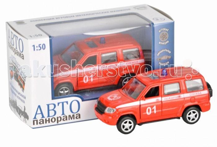 Автопанорама Инерционная машина Пожарная служба 1:50