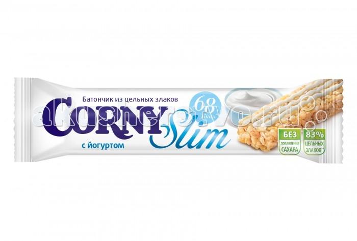 Corny Злаковый батончик Slim с йогуртом 20 г