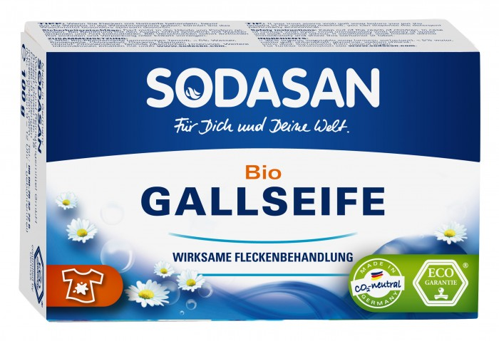 Моющие средства Sodasan Мыло твердое для удаления пятен в холодной воде 100 г