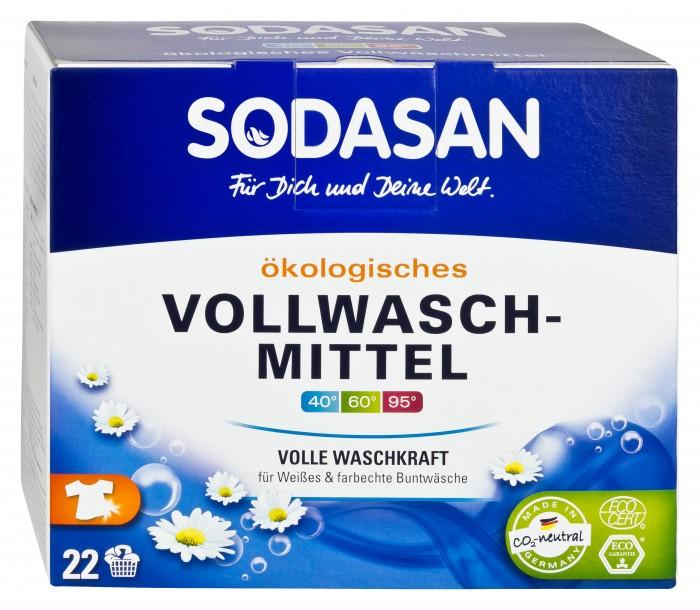 Моющие средства Sodasan Стиральный порошок-концентрат для отбеливаниея и удаления стойких загрязнений 1.2 кг