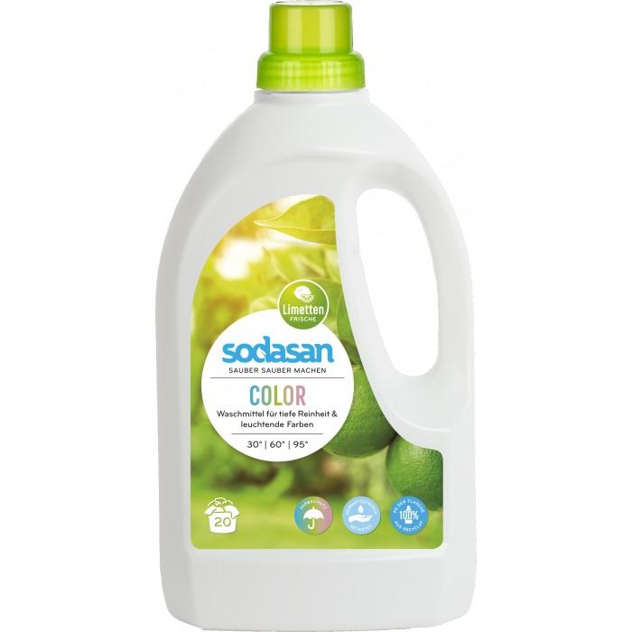 Sodasan Жидкое средство для стирки цветных вещей 1.5 л