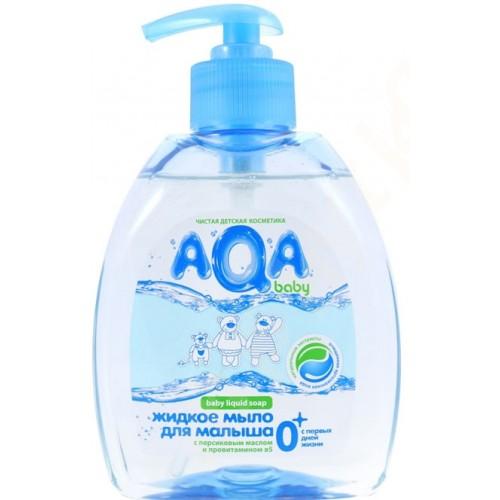 AQA baby Жидкое мыло для малыша с дозатором 300 мл