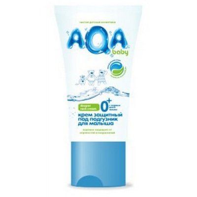AQA baby Крем защитный под подгузник 50 мл