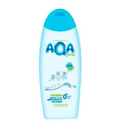 AQA baby Крем-гель для купания малыша 500 мл