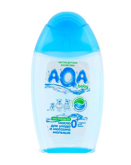 AQA baby Масло для ухода и массажа малыша 150 мл