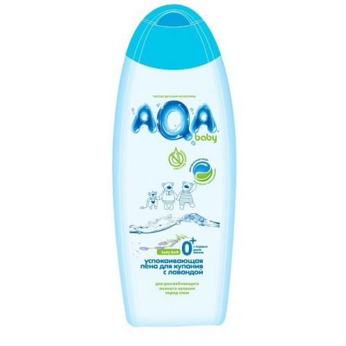 AQA baby Пена для купания успокаивающая с лавандой 500 мл