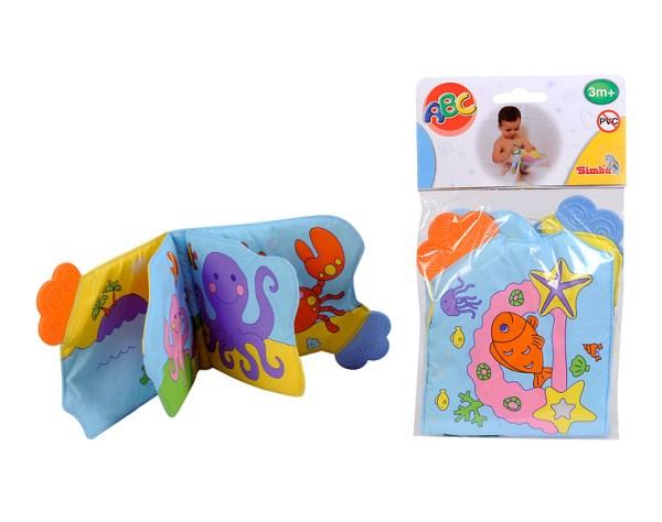 Simba Книжка для купанияКнижка для купанияSimba Книжка для купания со звуковыми эффектами. На страничках книжки - морские обитатели, с которыми можно познакомить малыша во время купания. На страницах книжки имеются прорезыватели.<br>