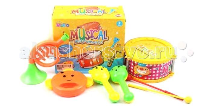 Музыкальная игрушка Shantou Gepai Набор музыкальные инструменты 5 предметов