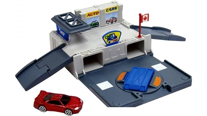 MotorMax Игровой набор АвтомастерскаяИгровой набор АвтомастерскаяИгровой набор Автомастерская включает в себя автостоянку с эстакадой, вывесками и дорожным знаком, которая собирается из отдельных элементов. Так же в комплект входит машинка. Все детали набора выполнены довольно подробно и в отличном качестве из безопасных для здоровья материалов. Каждый пластиковый комплект с транспортным средством может быть построен как автономно, так и быть расширен в целый город, используя несколько наборов.   Основные характеристики:   Размер упаковки: 25 x 15 x 35 см Вес: 0,25 кг<br>