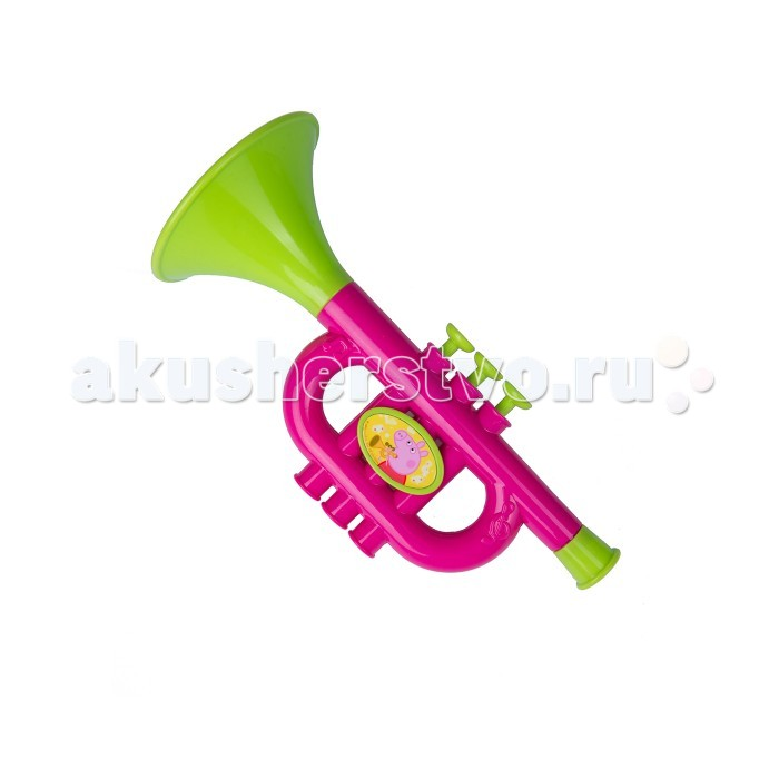 Музыкальная игрушка Peppa Pig Труба на блистере