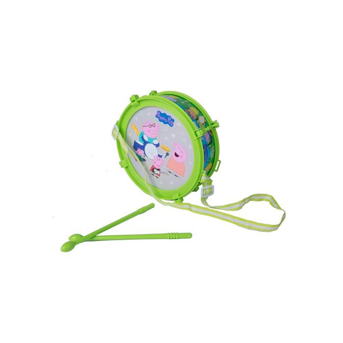 Музыкальная игрушка Peppa Pig Барабан Пеппы световые эффекты в коробке